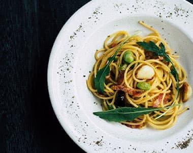 Italienische Pasta Gerichte